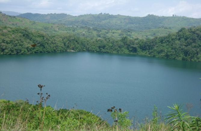 Caribela Lake -One of the lakes in the Park