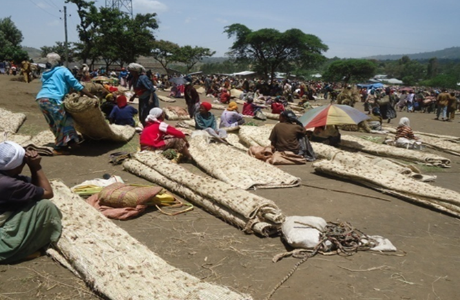 Handicrafts work products at Kibet (in Silte) market place (3)