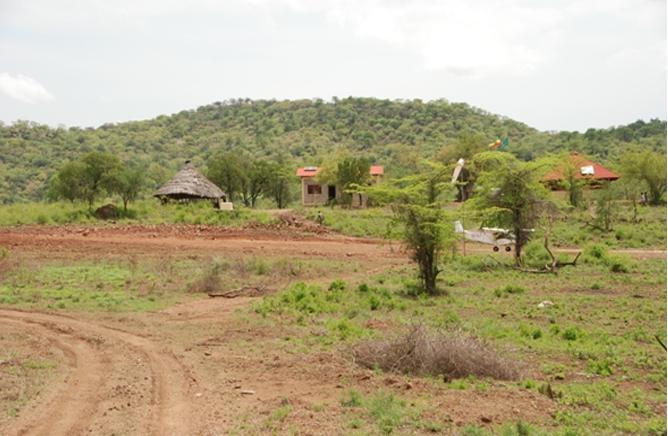 Head Quarter of the National Park